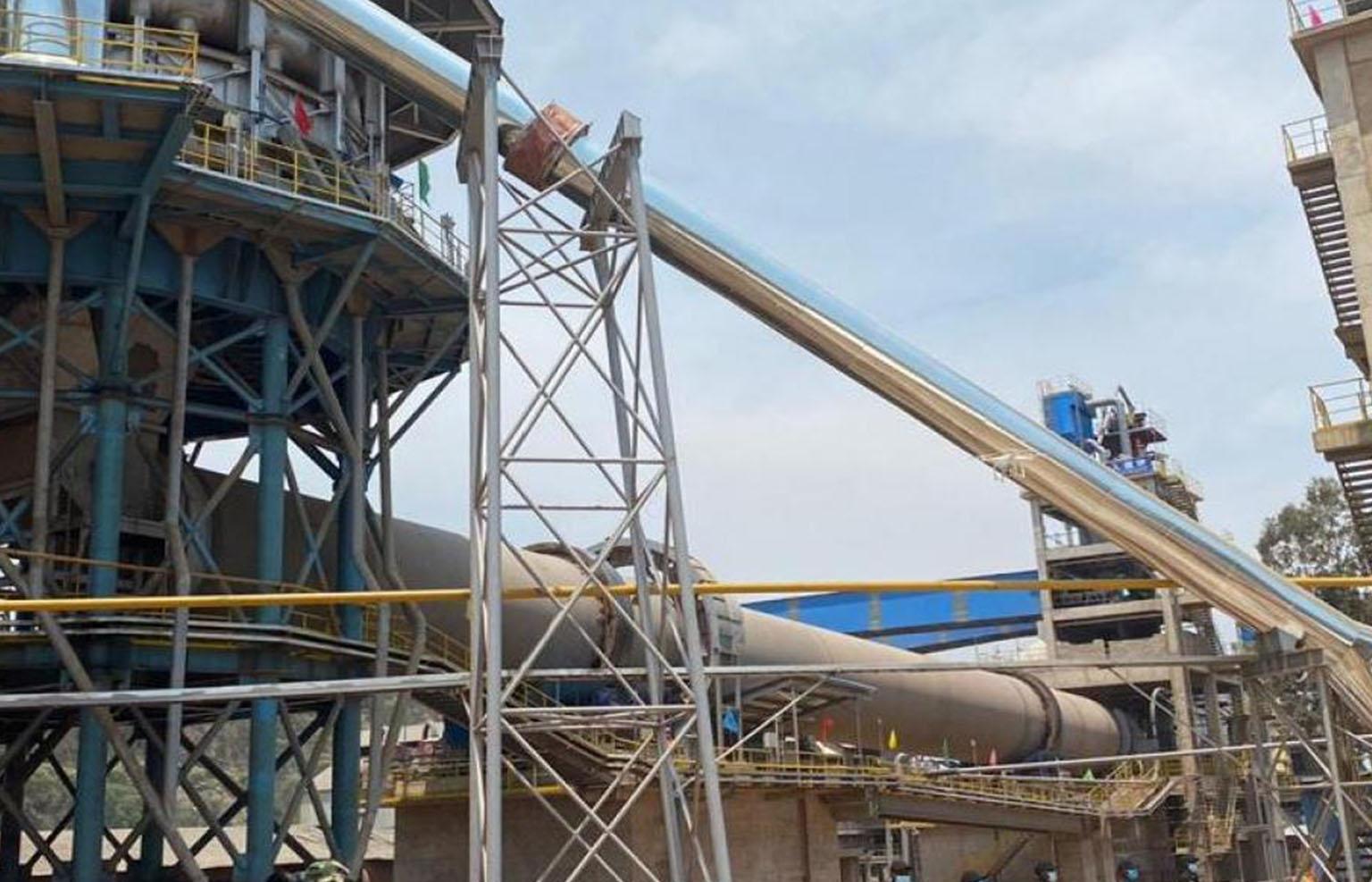 La Grande cimenterie du Katanga lance la production de la chaux à Likasi